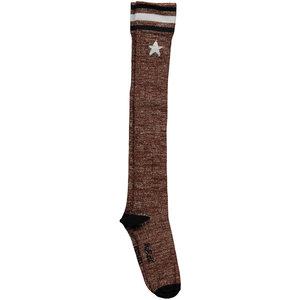 NOBELL meisjes lange sokken bronze rosi