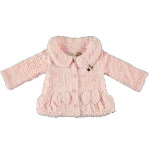 LE CHIC meisjes jas powder blush soft teddy