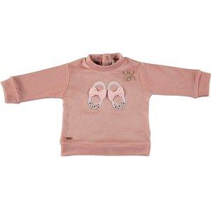 LE CHIC meisjes trui victorian pink  - Copy