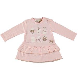 LE CHIC meisjes jurk powder blush perfume collection