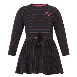 BEEBIELOVE meisjes jurk black