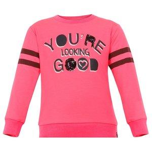 BEEBIELOVE meisjes trui pink