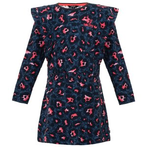 LITTLE MISS JULIETTE meisjes jurk dark blue
