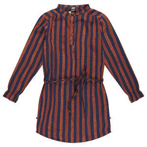 RUMBL meisjes jurk large lurex stripe