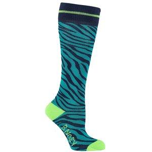 B.NOSY meisjes sokken lagoon zebra