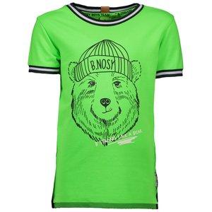 B.NOSY jongens t-shirt neon frog