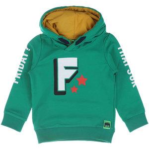 FUNKY XS jongens trui bright green