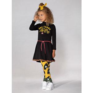 FUNKY XS meisjes jurk black