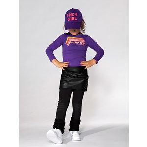 FUNKY XS meisjes longsleeve bright purple
