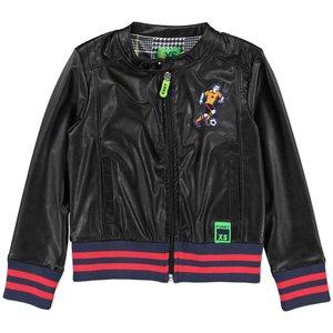FUNKY XS jongens jas black