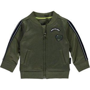Quapi jongens bomber jas army green vincenzo