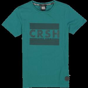 CRUSH DENIM jongens t-shirt green ronald