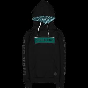 CRUSH DENIM jongens hoodie black wesley