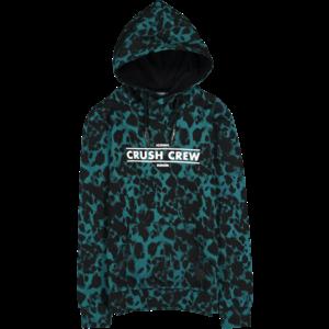 CRUSH DENIM jongens hoodie black wilbur