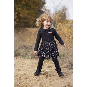 KOKO NOKO meisjes jurk black