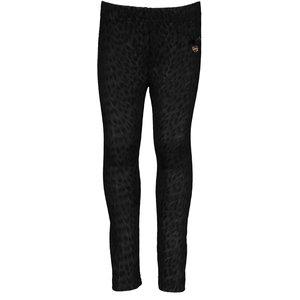 LE CHIC meisjes legging black suede-look