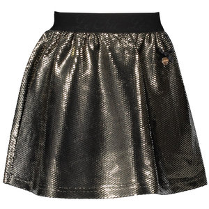 LE CHIC meisjes rok fields of gold shiny glamour