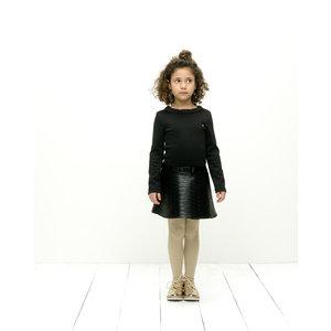 LE CHIC meisjes jurk black