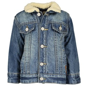 B.NOSY jongens jas vintage blue