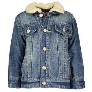 B.NOSY jongens spijkerjas vintage blue