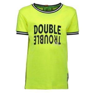 B.NOSY jongens t-shirt safety yellow