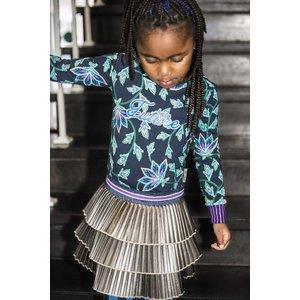 B.NOSY meisjes jurk paisley