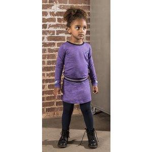 B.NOSY meisjes jurk grape purple