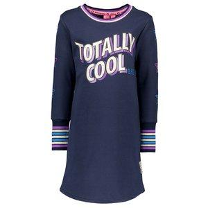 B.NOSY meisjes jurk ink blue
