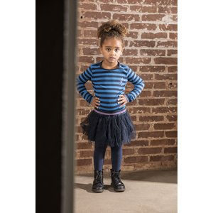B.NOSY meisjes jurk striped azure blue
