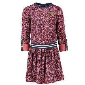 Nono meisjes jurk navy blazer