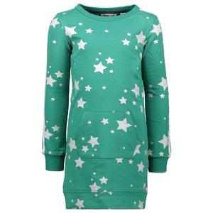 MOODSTREET meisjes jurk green