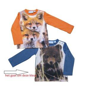KNOT SO BAD jongens longsleeve blue fox/bear