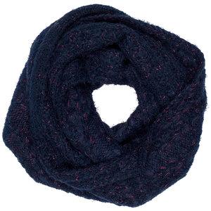 LE BIG meisjes sjaal black iris