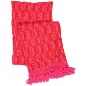LE BIG meisjes sjaal pink glo