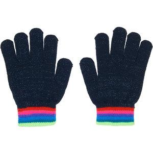 LE BIG meisjes handschoenen black iris