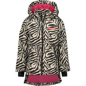 RAIZZED meisjes jas zebra aop