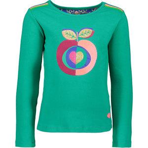 Kidz Art meisjes longsleeve green apple
