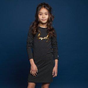 MOODSTREET meisjes jurk stripe