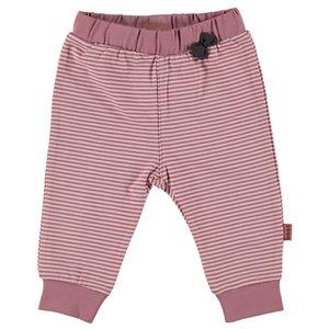B.E.S.S. meisjes broek pinstripe pink stripes