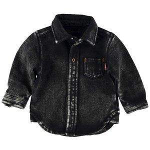 B.E.S.S. jongens blouse black denim
