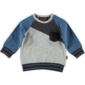 B.E.S.S. jongens trui grey