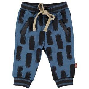 B.E.S.S. jongens joggingbroek blue swipe