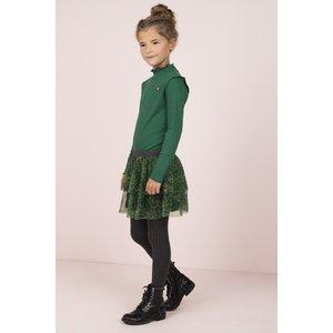 LIKE FLO meisjes jurk green