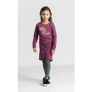 Quapi meisjes jurk bordeaux leopard tamia 3