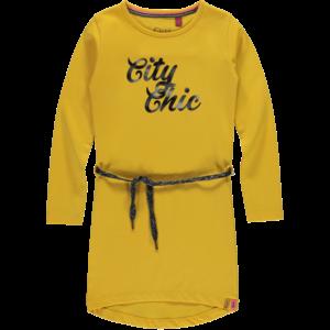 Quapi meisjes jurk amber yellow tamia 3