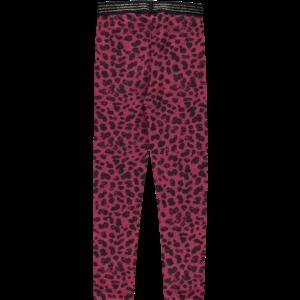 Quapi meisjes legging bordeaux leopard tilou