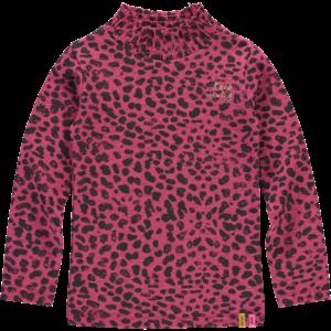 Quapi meisjes longsleeve bordeaux leopard tiahna