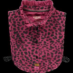 Quapi meisjes kraag bordeaux leopard tinca