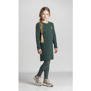 Quapi meisjes jurk bottle green thalinda