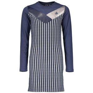 NOBELL meisjes jurk navy blazer maury